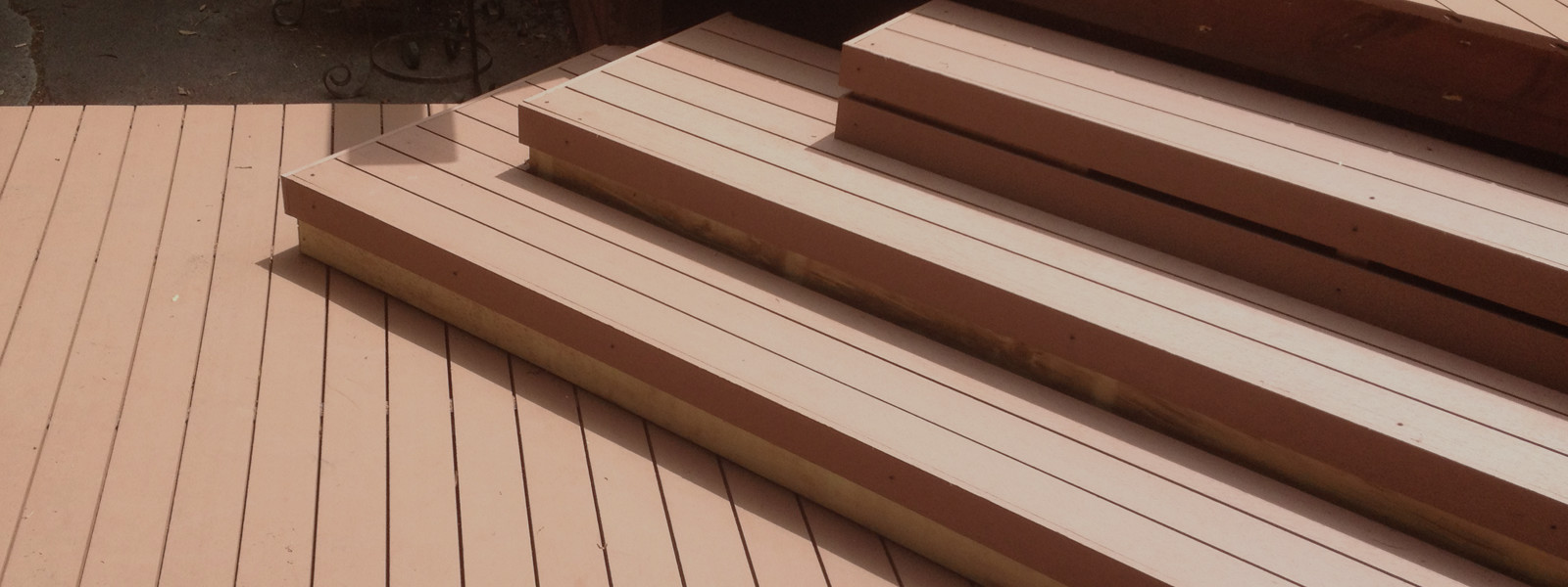 Title bg1 timberlast for Non wood decking material