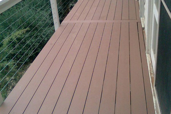 Timberlast composite decking for Plastic composite decking