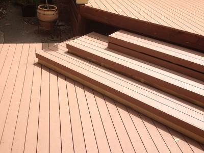 Composite decking timberlast for Non wood decking material