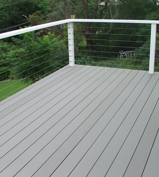 Gallery timberlast for Non wood decking material