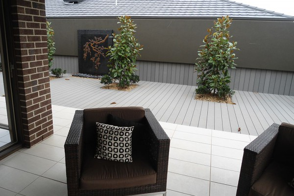 Melbourne composite decking supplier prices affordable no for Non wood decking material