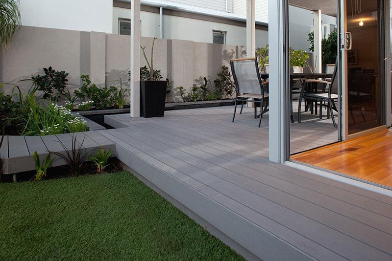 how to build a timber outdoor steps for concrete alfresco